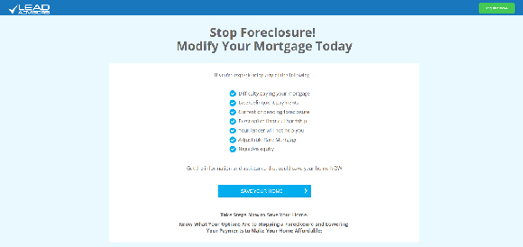 Mortgage Relief Demo