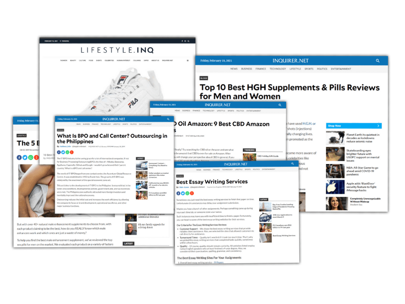 How to post sponsored content on other sites