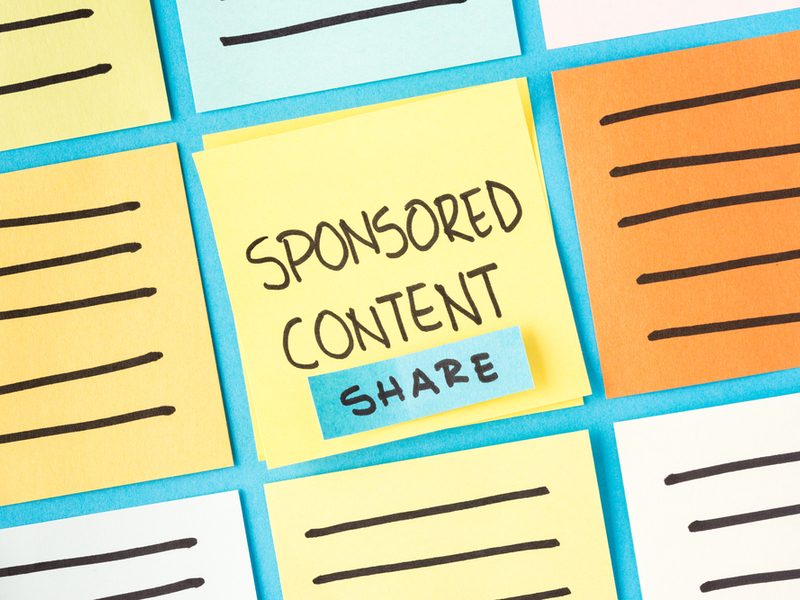 Why does your marketing campaign need sponsored content?